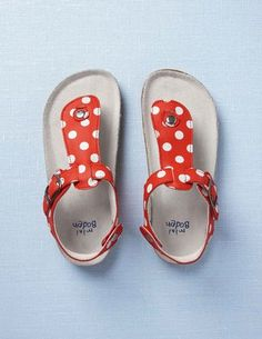 polka dot sandals<3 they might be for babies, but i almost wish they were my size and a different print!