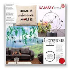 """Sammydress 27"" by danijela-3 ❤ liked on Polyvore featuring interior, interiors, interior design, home, home decor and interior decorating"
