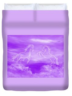 Spirit Horses Duvet Cover for Sale by Faye Anastasopoulou - Elwira Blount Ocean Scenes, Pattern Pictures, My Themes, Equine Art, Bed Throws, Basic Colors, Artist At Work, Colorful Backgrounds, Fine Art America