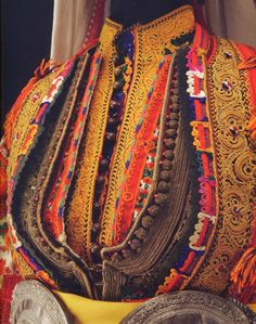 FolkCostume&Embroidery: Women's costume and embroidery of the Miyaks, Galičnik and other villages, Macedonia