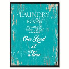 Laundry Room sorting life out Funny Quote Saying Gift Ideas Home Décor Wall Art #SpotColorArt
