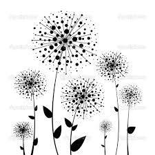 Картинки по запросу цветы контур вектор
