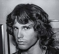 Jim Morrison with an expression that warns Mr. Hyde might be coming on any minute now.