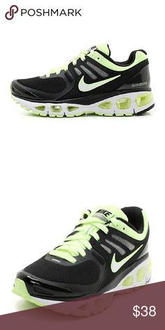 NIKE AIR TAILWIND 2 Great pair of Nikes in gently pre-owned condition. No stains or rips, no smells. Very nice and clean condition. Colors: black and a very soft neon green. Nike Shoes Athletic Shoes