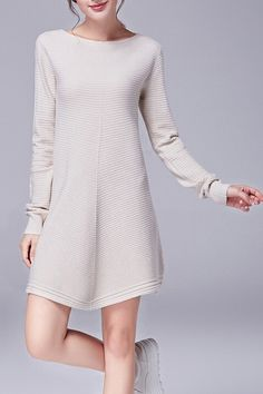 Hannou - Sabrina Dress in Apricot