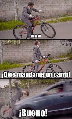 ★★★★★ Memes en español imágenes: Mándame un carro I➨…