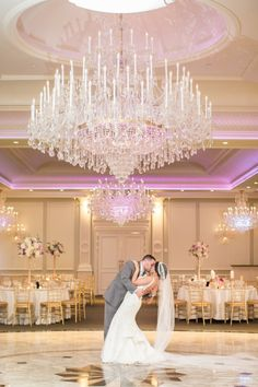 Gorgeous reception location at The Rockleigh / photo by @philip
