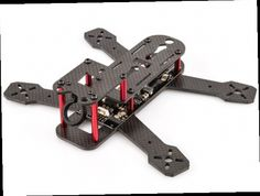 48.88$  Buy now - http://aliaha.worldwells.pw/go.php?t=32752734288 - BeeRotor 180 180mm 4-Axis Full Carbon Fiber Racing Mini Quadcopter Frame with PDB Board