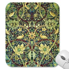 Vintage Carpet Pattern Mousepads by VintageFactory