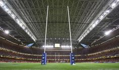Millennium Stadium, home to the Welsh national rugby team, Wales