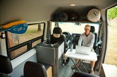 Sprinter Swivel Seats   Sprinter Van Camper Conversion - Southern California