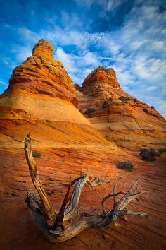 ✮ Rock formations in the South Coyote Buttes unit of the Vermillion Cliffs National Monument - AZ