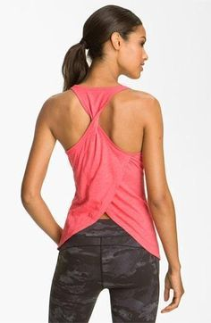 The top!!!  Alo 'Zen' Tank | Workout Tanks and Tights http://www.FitnessGirlApparel.com