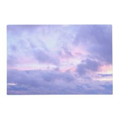 #beauty - #Romantic Evening Sky Placemat