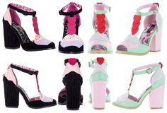 Noir ou Menthe ? Chaussures Nu Pieds Pin-Up Rockabilly 50s Lolita Cupcake http://www.belldandy.fr/nos-marques/iron-fist.html https://www.facebook.com/belldandy.fr/photos/a.338099729399.185032.327001919399/10154210155249400/?type=3