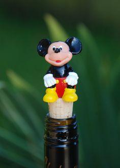 Mickey Mouse Wine Bottle Stopper by GulfCoasters on Etsy