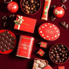 Collectible festive tinware filled with Haigh's Chocolates favourites http://www.haighschocolates.com.au/chocolates/browse/#christmas-collection