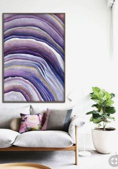 Pantone 2018 colour of the year, ultra violet. My favourite interior design schemes using this trend