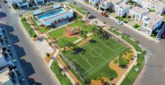 Eco Architecture, Sports Complex, New City, Clash Of Clans, Autocad, Baseball Field, Playground, Beautiful Homes, Camping