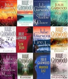 Julie Garwood, awesome story teller, I've read and re read all of her books.  Never disappointed!!!