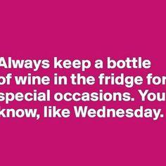 Yay Wednesdays! #winewednesday #wine #happy #midweek #instagood #wednesday