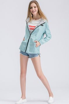 Flash Deals $13.00, Buy Coats Sale Real Jacket Women 2017 Latest Fall Korean Version Bomber Both Sides Wear Large Size Loose Fashionable Clothes