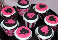 Cupcakes para Fiesta de Barbie