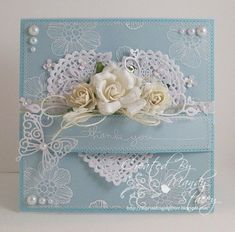7 Sensational Cool Tips: Shabby Chic Painting Babies Breath shabby chic fabric how to make.Shabby Chic Fabric How To Make. Wedding Cards Handmade, Greeting Cards Handmade, Wedding Gifts, Pretty Cards, Love Cards, Tarjetas Stampin Up, Shabby Chic Cards, Ideias Diy, Wedding Anniversary Cards