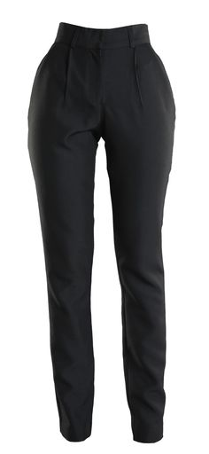 Highwaist black pants available on www.floralraffia.com