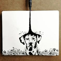 10 Cool Art drawings : Beautiful illustrations by which of them you find the best? No copyright infringement intended. Ink Pen Drawings, Cool Art Drawings, Art Drawings Sketches, Crazy Drawings, Ink Pen Art, Art And Illustration, Ink Illustrations, Character Illustration, Arte Inspo
