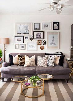 Home Shabby HomeDecorare una parete con i quadri