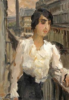 Isaac Israëls (1865-1934) was een van de voornaamste Nederlandse schilders uit de groep van Amsterdamse Impressionisten. Naast zijn schilderwerk was hij tekenaar en aquarellist en maakte hij pastels, etsen en litho's.