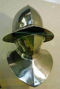 Kettle helm bevor 15th armor