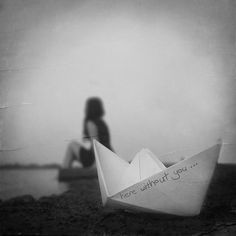 the paper boat... without you
