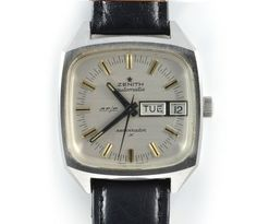The Zenith Respirator Automatic Mens Watch Circa 1970 is one of VonScharfenberg's most sought after vintage watches