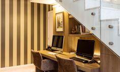 10 soluções para aproveitar o espaço embaixo da escada - Casa