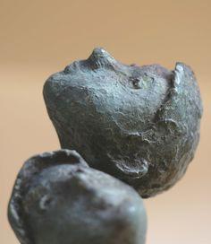 Bob Quinn- Detail - The Stars Look Different Tonight Outdoor Sculpture, Sculpture Art, Bob Quinn, Figurative, Statues, Vase, Detail, Sculptures, Sculpey Clay