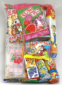Assorted Japanese Junk Food Snack Dagashi Economical 20 Packs of 19 Types >>> Read more  at the image link.Note:It is affiliate link to Amazon.