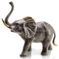 Found it at Wayfair - Bellowing Elephant Figurine