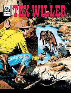 Tex Willer -lehti no 1/2015. #sarjakuva #sarjis #sarjakuvalehti #egmont