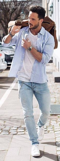 Summer Outfit Ideas For Men (17 Looks)