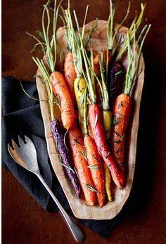 Rosemary Roasted Carrots [RECIPE]