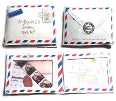 DIY Fabric Envelope Wallet: A wallet that can find it's way back to you!