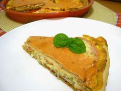 Kulinarne wariacje i inne inspiracje: Szybka tarta-kisz