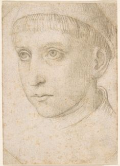 Attributed to Master of the Legend of Saint Ursula | Head of a Boy | The Met
