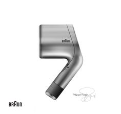 Braun Hair dryer design by Philippe Poyte 2016.