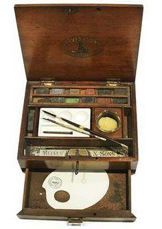 Reeves & Sons Mahogany Watercolour Box