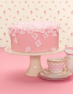 Pink Decoration Cake