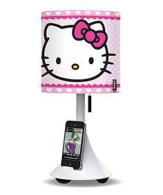 Look at this Hello Kitty Hello Kitty Music Speaker & Table Lamp on today! Hello Kitty Bedroom, Hello Kitty House, Speaker Table, Anniversaire Hello Kitty, Bobtail Cat, Wonderful Day, Music Speakers, Hello Kitty Collection, Sanrio