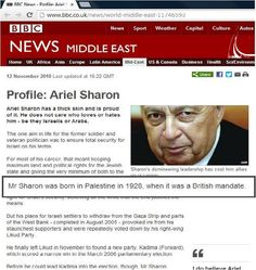 Isn't it interesting that Israelis and many Jews deny the existence of Palestinians and Palestine, and YET, Ariel Sharon's birth certificate states born in PALESTINE in 1928. HOW AWKWARD!  The lies they tell and retell..SMH